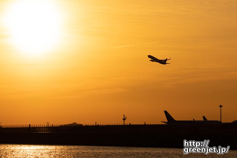 羽田で飛行機~2月23日のJL501その1