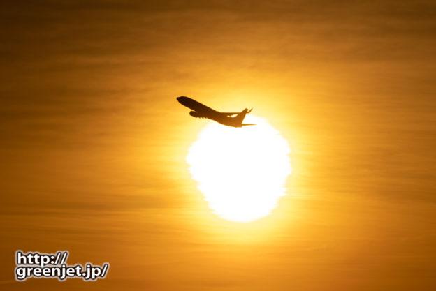 羽田で飛行機~2月23日のJL501その2
