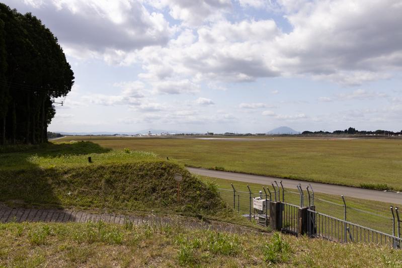 【鹿児島の飛行機撮影ポイント】RWY16エンド東側
