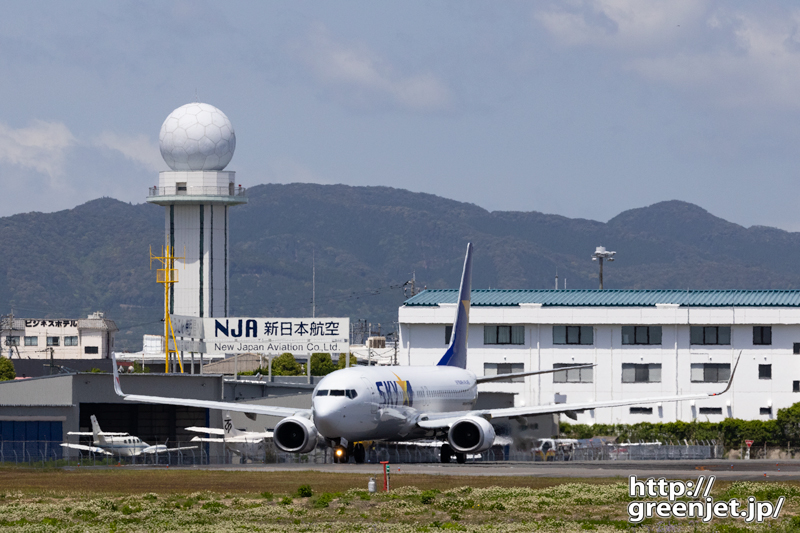 【鹿児島の飛行機撮影ポイント】RWY34エンド