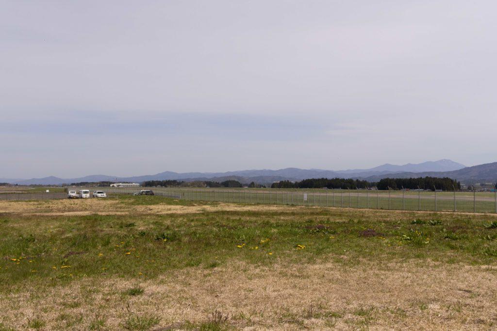 【花巻の飛行機撮影ポイント】宮野目地区グラウンド