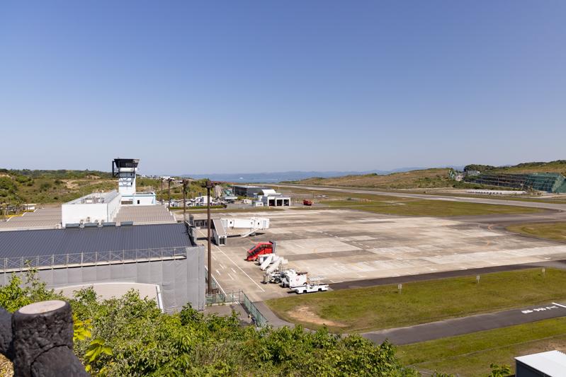 【南紀白浜の飛行機撮影ポイント】空港公園