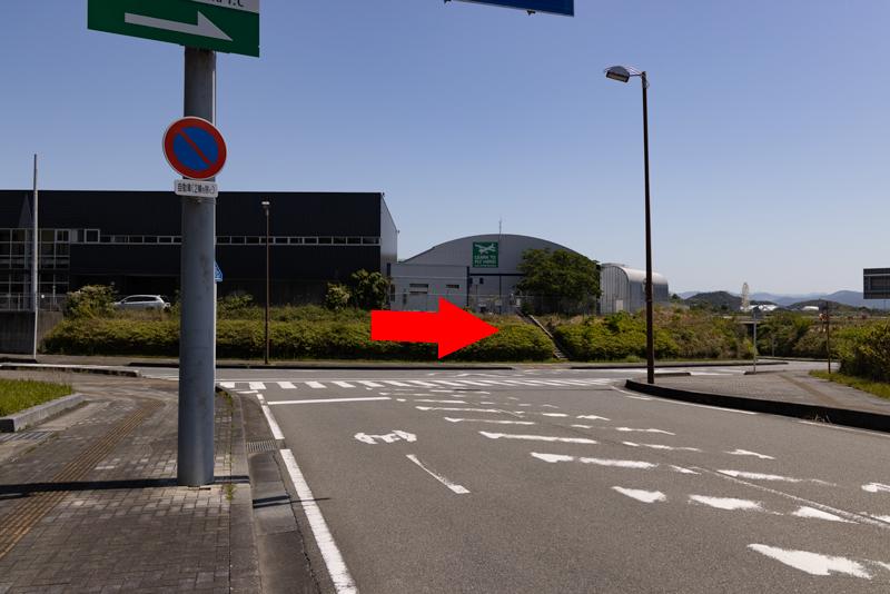 【南紀白浜の飛行機撮影ポイント】空港北交差点