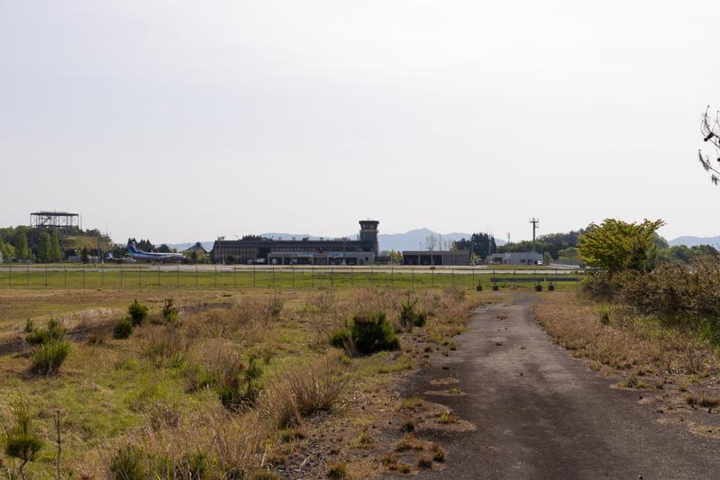 【但馬の飛行機撮影ポイント】滑走路西側