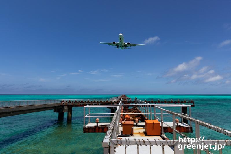 【下地島の飛行機撮影ポイント】RWY17エンド