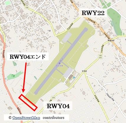 【宮古の飛行機撮影ポイント】RWY04エンド