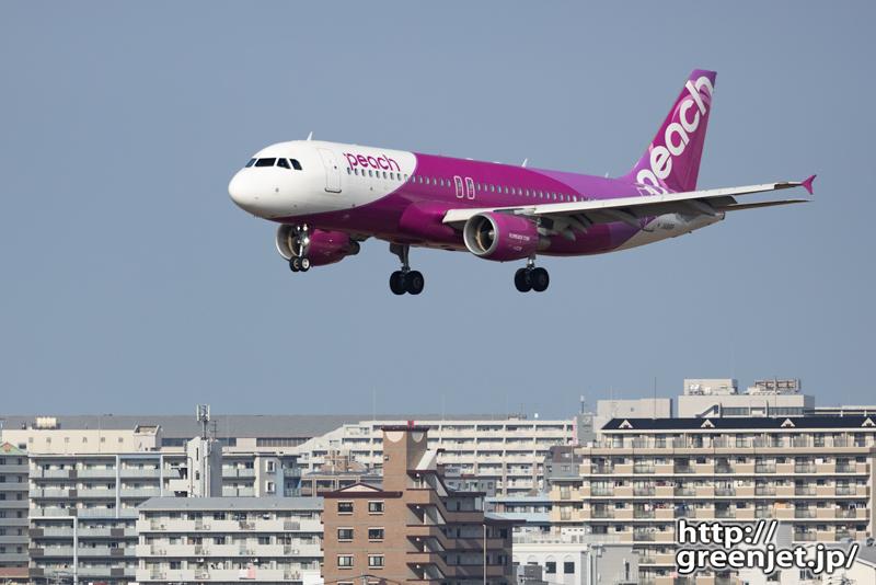 福岡で飛行機~羨ましいね!マンションと