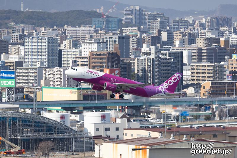 福岡で飛行機~視程良好なアクシオン