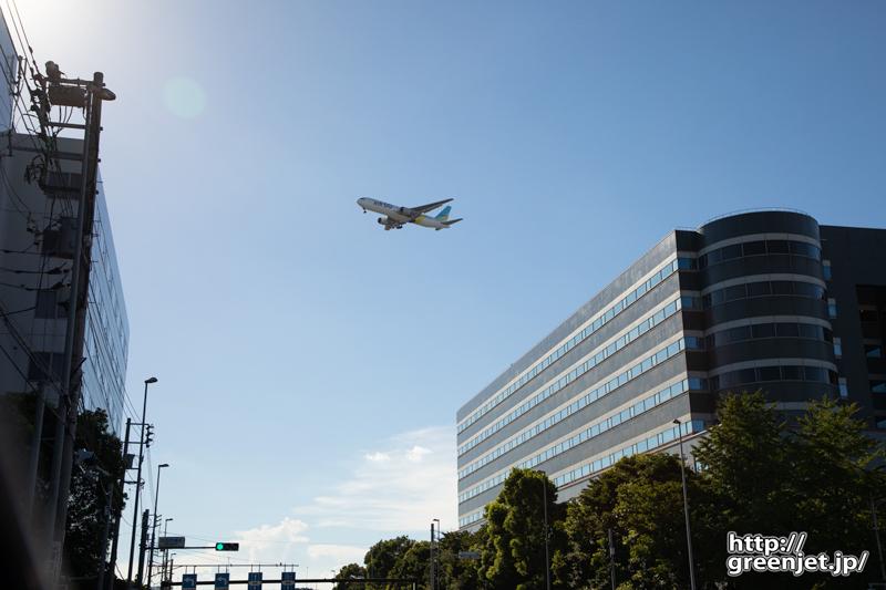 羽田で飛行機~太田市場前でおーっ!と思う