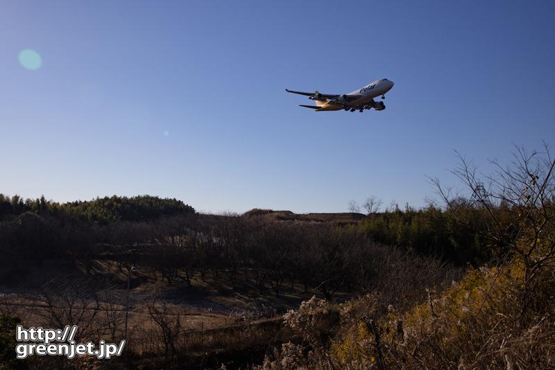 成田で飛行機~朝の静寂の中でジャンボ