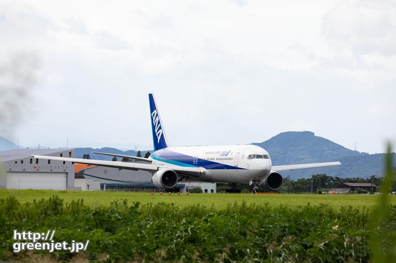 【熊本の飛行機撮影ポイント】RWY25エンド