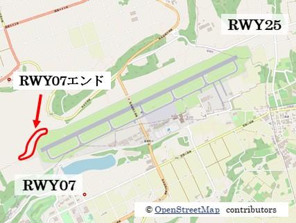 【熊本の飛行機撮影ポイント】RWY07エンド