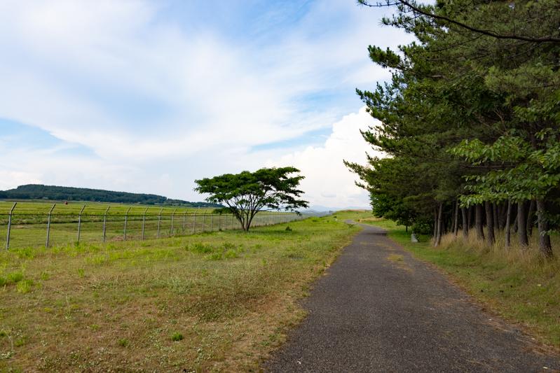 【庄内の飛行機撮影ポイント】見はらしの丘