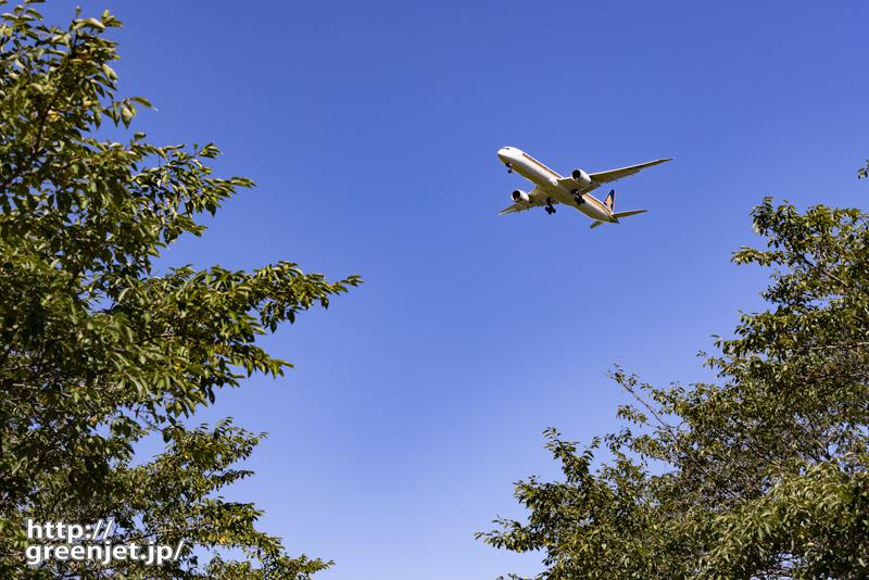 成田で飛行機~シンガポールをこう狙う!