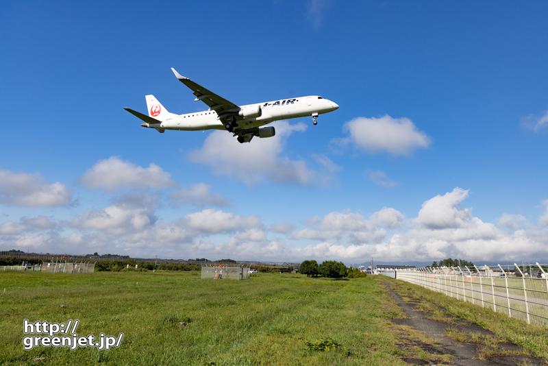 【山形の飛行機撮影ポイント】RWY01エンド