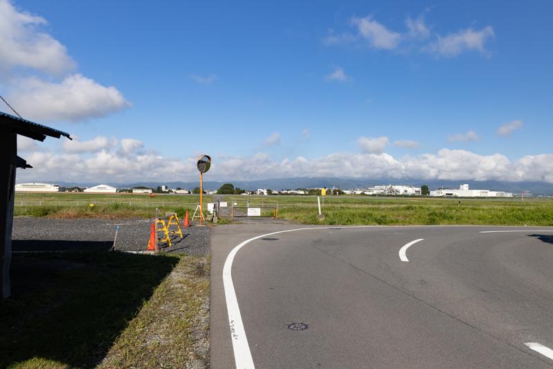 【山形の飛行機撮影ポイント】RWY19エンド東側