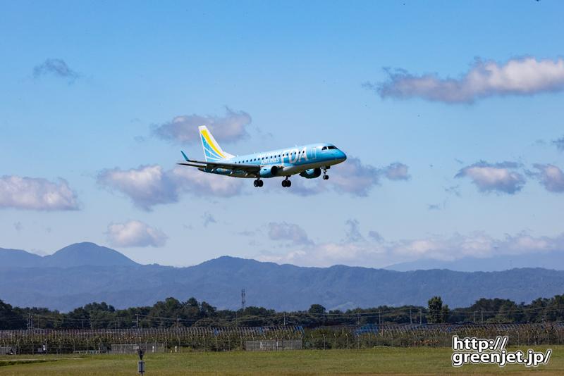 【山形の飛行機撮影ポイント】RWY01エンド東側